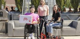 Dylan Alcott's newest venture serves up fresh food and jobs for people with disability