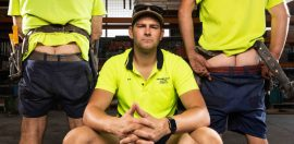 Aussie tradies turn pin-up boys for charity