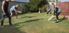Howzat! Charity appeals for Aussies to play backyard cricket