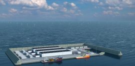 Artificial island set to house world-first clean energy hub