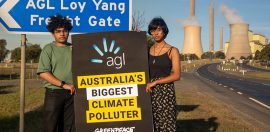 AGL is taking Greenpeace to court. What does that mean for advocacy?