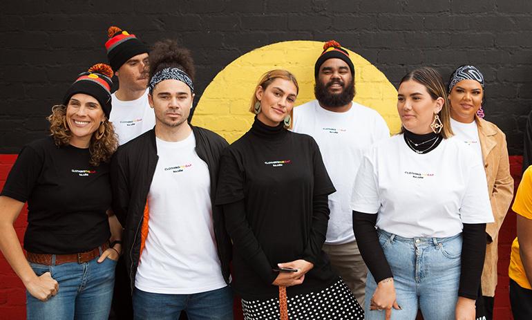 Clothing The Gaps team